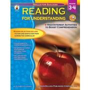 Carson-Dellosa Reading for Understanding Resource Book, Grades 3 - 4