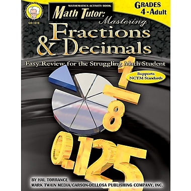 Mark Twain Math Tutor Resource Book, Basic Skills, Grades 4 - Adult