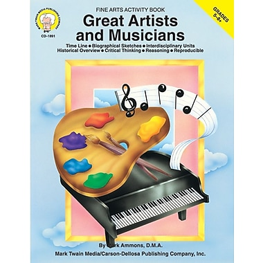 Mark Twain Great Artists and Musicians Resource Book