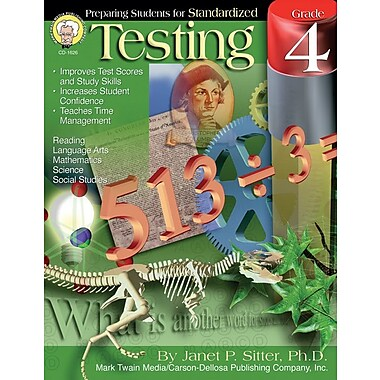 Mark Twain Preparing Students for Standardized Testing Resource Book, Grade 4
