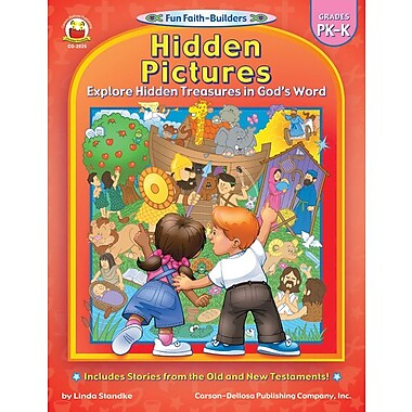 Carson-Dellosa Hidden Pictures Resource Book, Grades PK - K