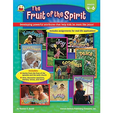 Carson-Dellosa The Fruit of the Spirit Resource Book, Grades 4 - 6