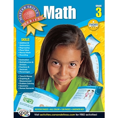 American Education Math Workbook, Grade 3