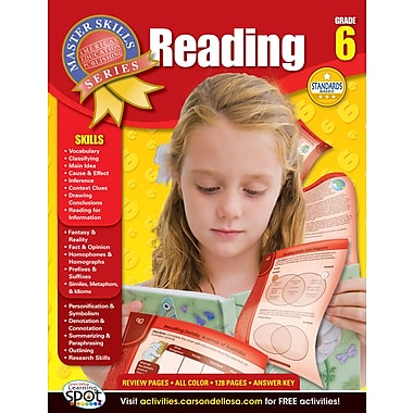 American Education Reading Workbook, Grade 6