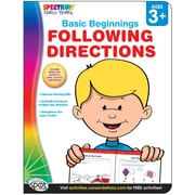 Spectrum Following Directions Activity Book