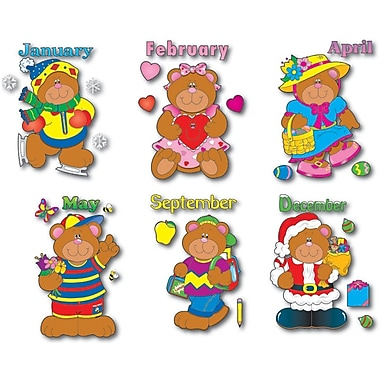 Carson-Dellosa Holiday Bears Bulletin Board Set