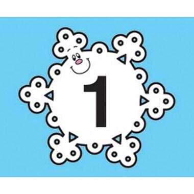 Carson-Dellosa Snowflake Calendar Cover-Up