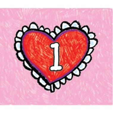 Carson-Dellosa Hearts: Kid-Drawn Calendar Cover-Up