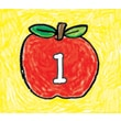 Carson-Dellosa Apples: Kid-Drawn Calendar Cover-Up