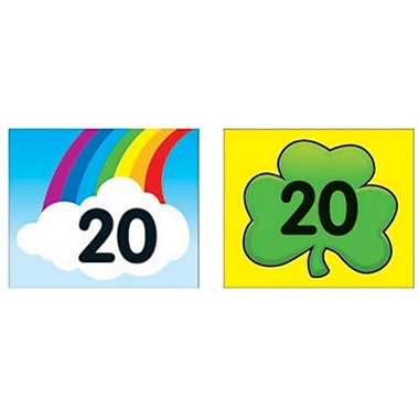Carson-Dellosa Shamrock/Rainbow Calendar Cover-Up