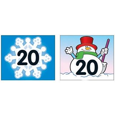 Carson-Dellosa Snowflake/Snowman Calendar Cover-Up