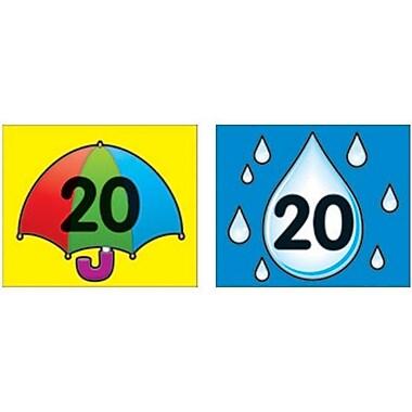 Carson-Dellosa Umbrella/Raindrop Calendar Cover-Up
