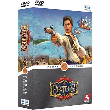 Feral Interactive Limited Sid Meier's Pirates! for Mac (1-User) [Boxed]