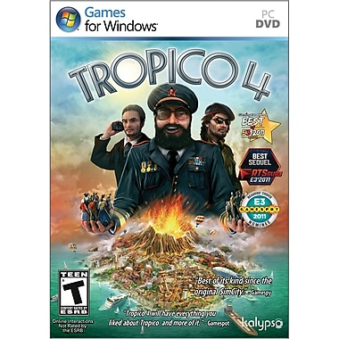 Kalypso Tropico 4 for Windows (1-User) [Boxed]