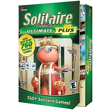 Masque Publishing Solitaire Antics Ultimate Plus for Mac (1-User) [Boxed]