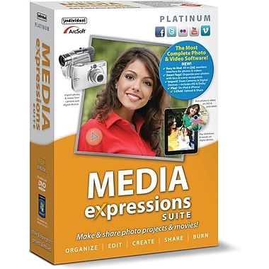 Individual Software Media Expressions Platinum 3 for Windows (1-User) [Boxed]