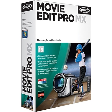Magix Movie Edit Pro Mx for Windows (1-User) [Boxed]