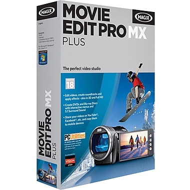 Magix Movie Edit Pro Mx Plus for Windows (1-User) [Boxed]