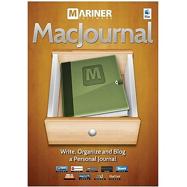Mariner Software Macjournal 6 for Mac (1-User) [Boxed]