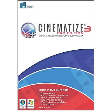 Miraizon Cinematize 3 Pro for Windows (1-User) [Boxed]