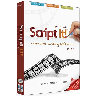 Nuvotech Script It for Windows (1-User) [Boxed]