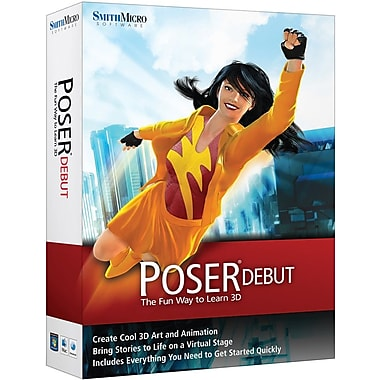 Smith Micro Software Poser Debut for Windows/Mac (1-User) [Boxed]