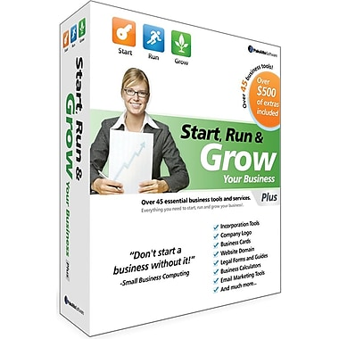 Palo Alto Software Start, Run & Grow Your Business Plus for Windows/Mac (1-User) [Boxed]
