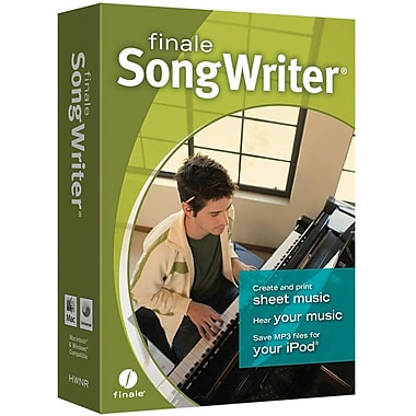 Emedia Music Finale Songwriter 2012 for Windows/Mac (1-User) [Boxed]