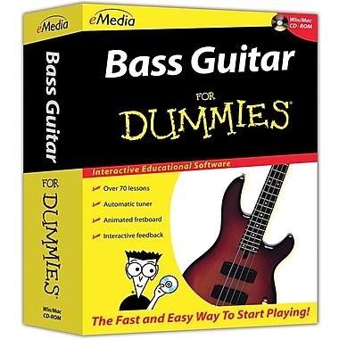 Emedia Music Bass For Dummies for Windows/Mac (1-User) [Boxed]