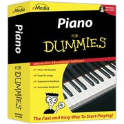 Emedia Music Piano For Dummies for Windows/Mac (1-User) [Boxed]