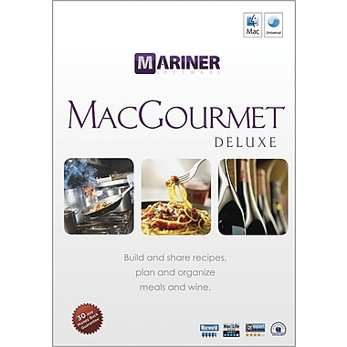 Mariner Software Macgourmet Deluxe 3.0 for Mac (1-User) [Boxed]