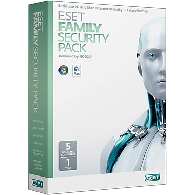 Eset Family Security Pack for Windows (5-User) [Boxed]