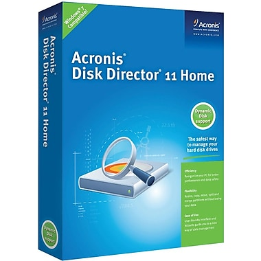 Acronis Disk Director 11 Home for Windows (1-User) [Boxed]