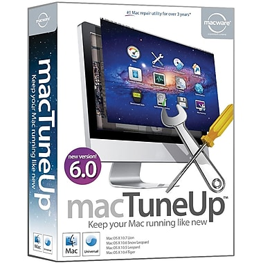 Macware Mactuneup 6.0 for Mac (1-User) [Boxed]