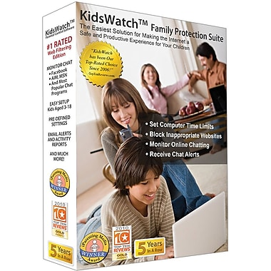 Kidswatch Family Protection Suite for Windows (1-User) [Boxed]