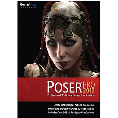 Smith Micro Software Poser Pro 2012 for Windows/Mac (1-User) [Boxed]