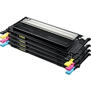 Samsung Black/Color Toner Cartridge (CLT-P409C), 4/Pack