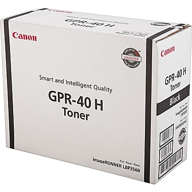 Canon GPR-40 Black Toner Cartridge (3482B005AA), High Yield