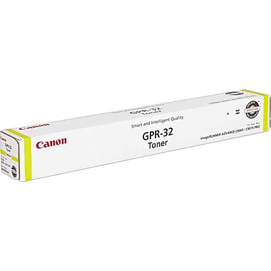 Canon GPR-32 Yellow Toner Cartridge (2803B003AA), High Yield