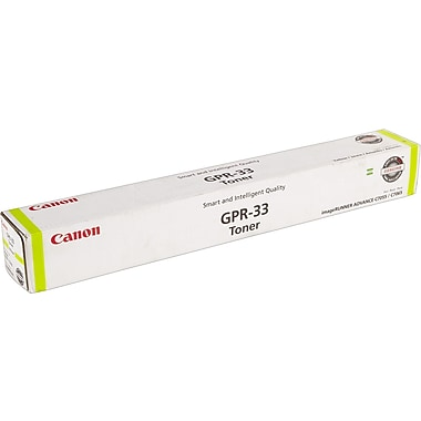 Canon GPR-33 Yellow Toner Cartridge (2804B003AA), High Yield