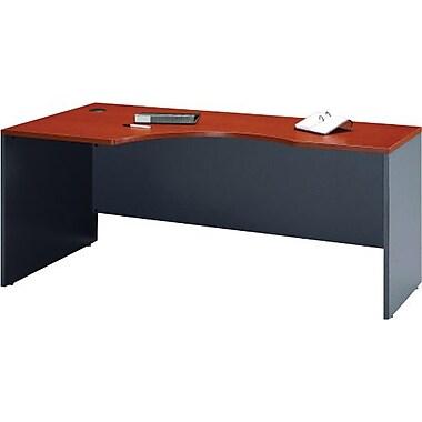Bush® Westfield Collection Left Corner Module, Autumn Cherry & Graphite Grey