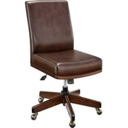 Martha Stewart Home Office Tyler Task Chair, Molasses Brown