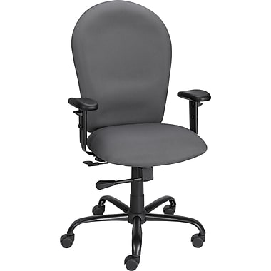 Staples Tavol Big & Tall Fabric Task Chair, Gray