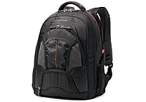 Samsonite Tectonic Laptop Backpack, Black/Orange
