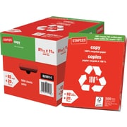 "Staples® 100% Recycled FSC-Certified Copy Paper, 8 1/2"" x 11"""