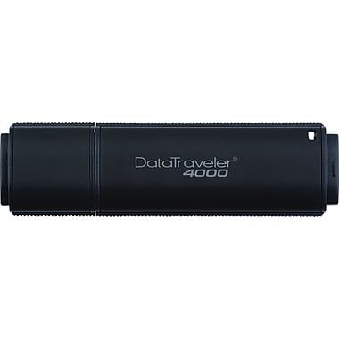 Kingston DataTraveler 4000 USB 2.0 Data Encrypted USB Flash Drive (Black)