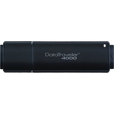 Kingston DataTraveler 4000 8GB USB 2.0 Data Encrypted USB Flash Drive (Black)