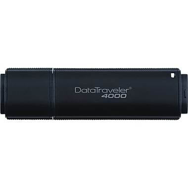 Kingston DataTraveler 4000 16GB USB 2.0 Data Encrypted USB Flash Drive (Black)