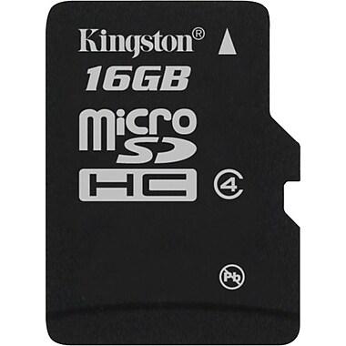 Kingston 16GB - microSD (microSDHC) Card Class 4 Flash Memory Card