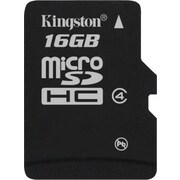 Kingston 16GB - microSD (microSDHC) Card Class 4 Flash Memory Card